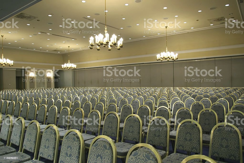Luxurious conference room stock photo