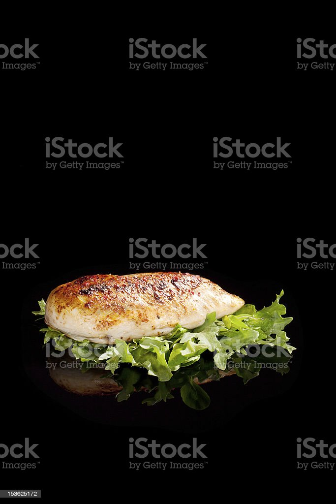 Luxurious delicious chicken breast background. royalty-free stock photo