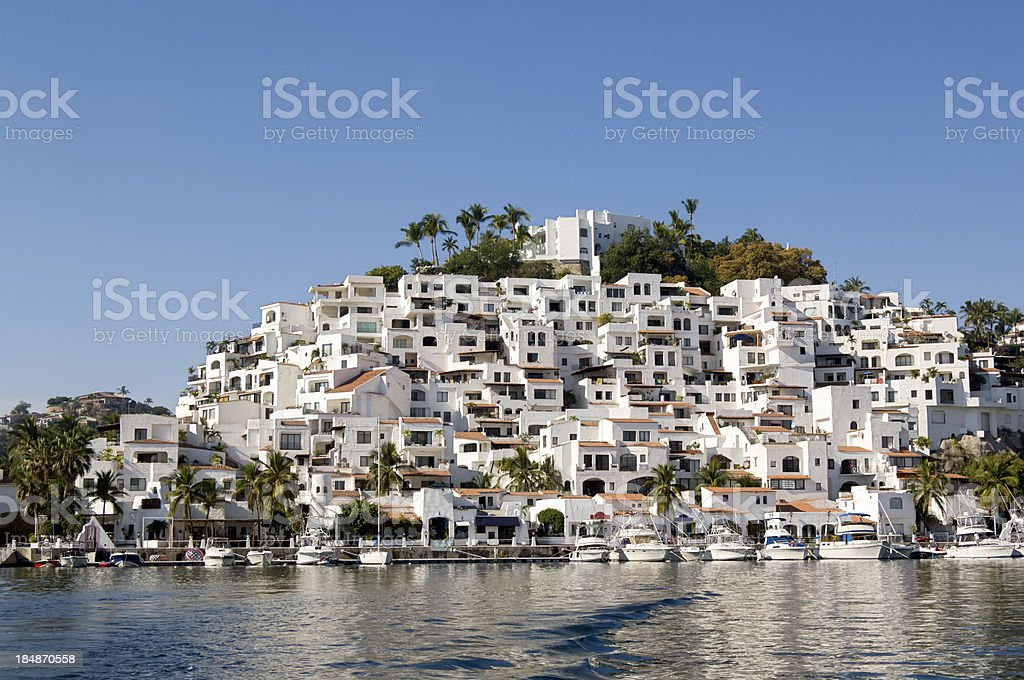 Luxurious five star hotel, Mexico stock photo