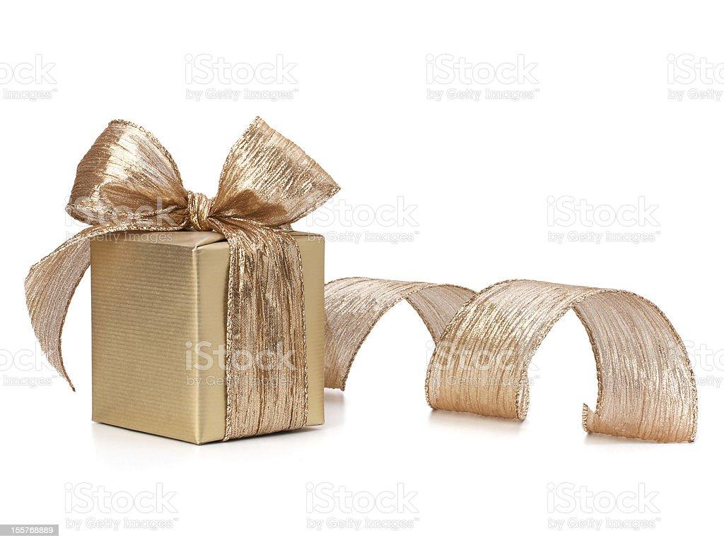 Luxurious gift royalty-free stock photo
