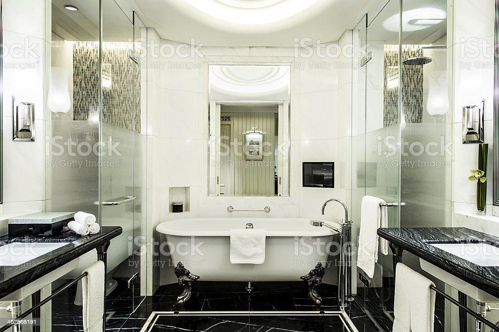 Luxurious Hotel Bathroom stock photo