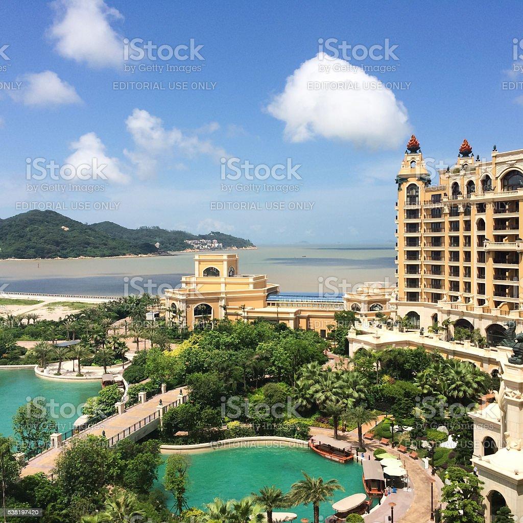 Luxurious Hotel stock photo