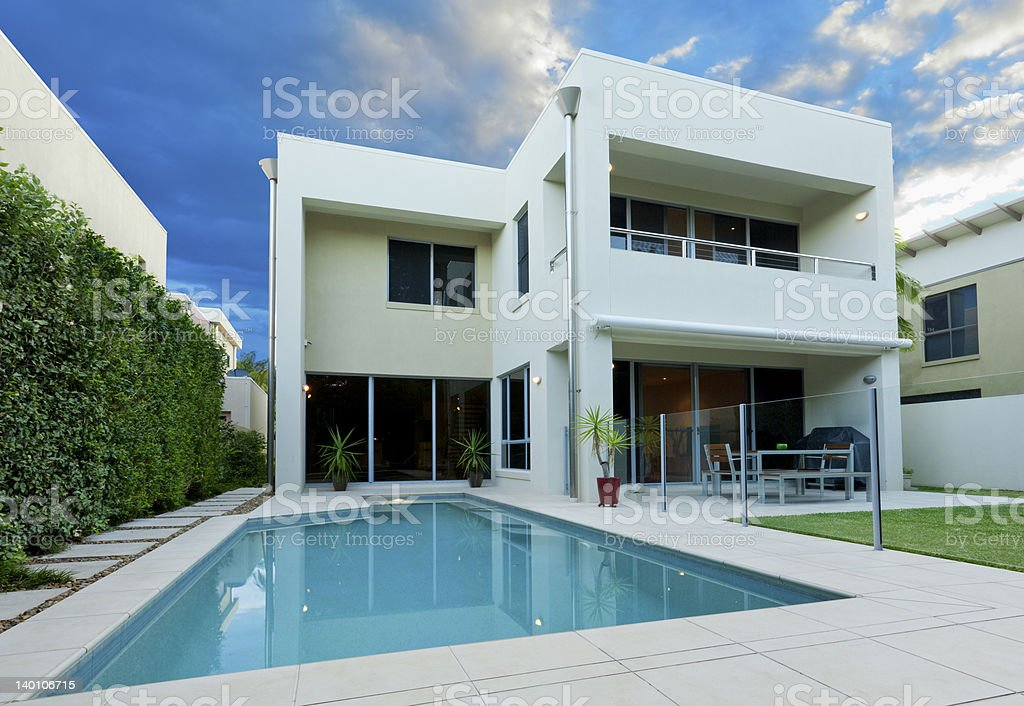 Luxurious house royalty-free stock photo