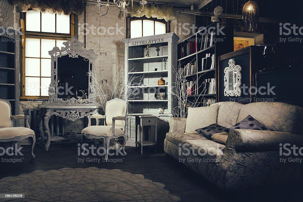Luxurious interior royalty-free stock photo