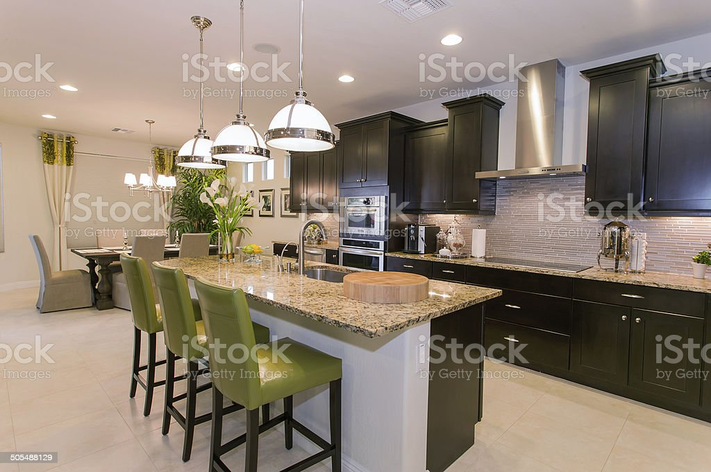 Luxurious Kitchen stock photo