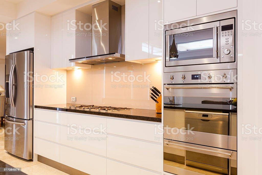 Luxurious kitchen stock photo