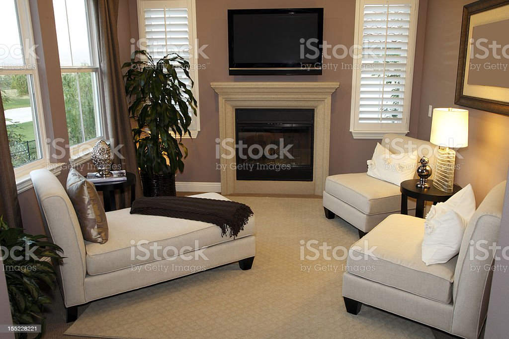 Luxurious living room royalty-free stock photo