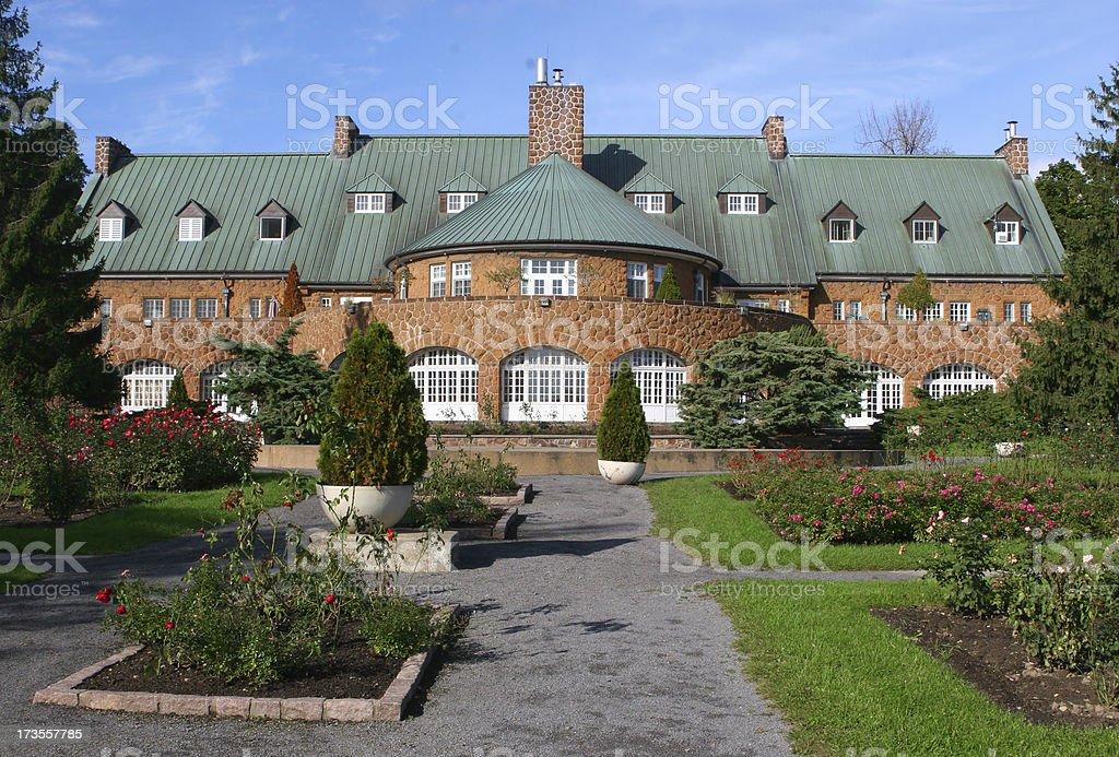 Luxurious Manor royalty-free stock photo