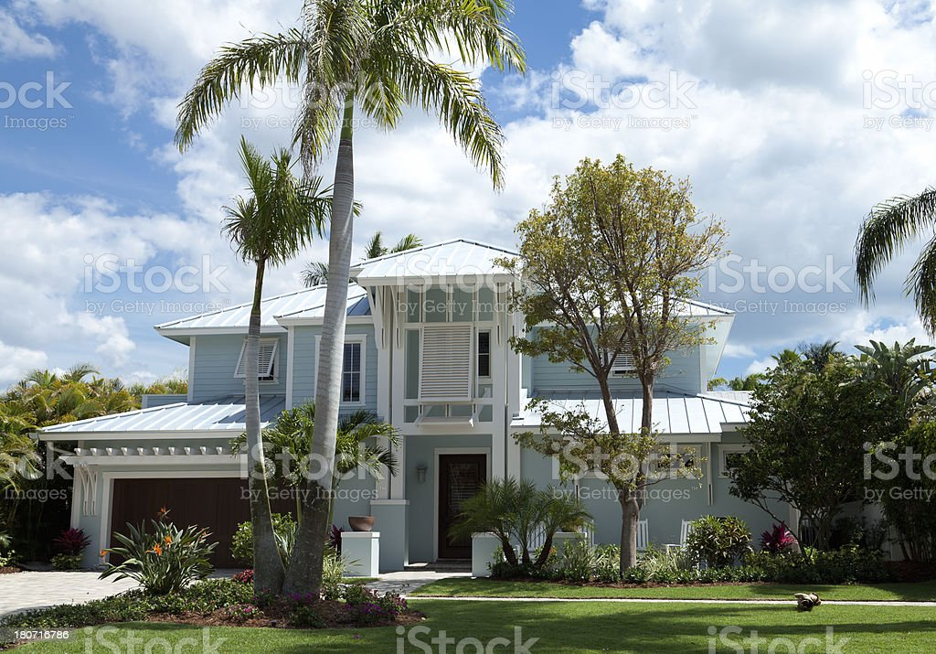 luxurious mansion royalty-free stock photo