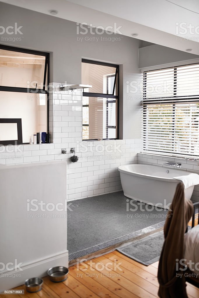 Luxurious modern living stock photo