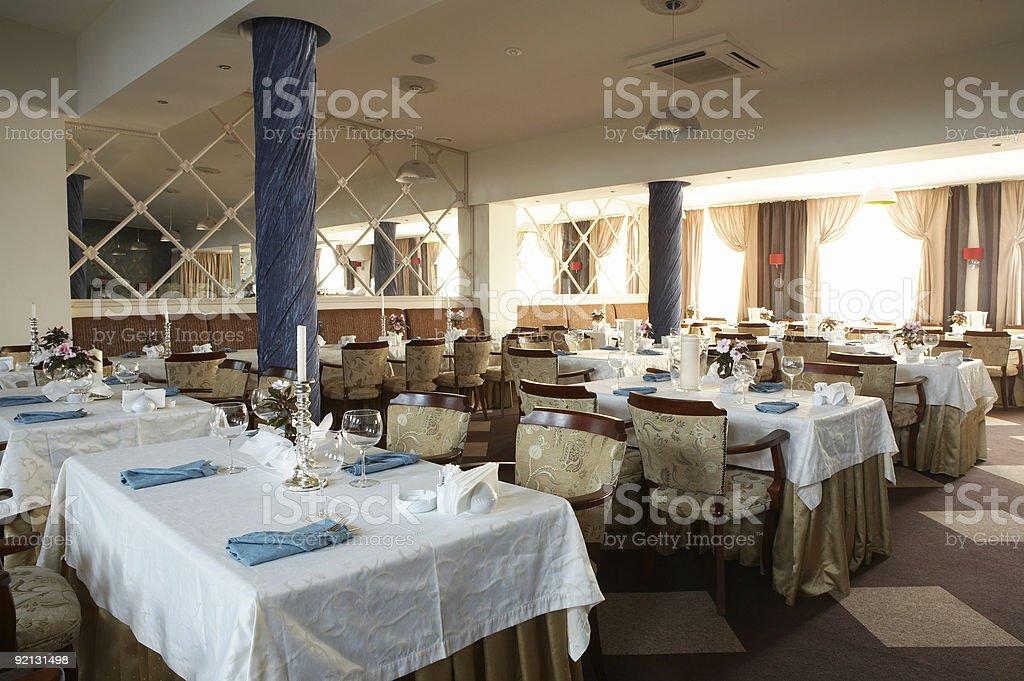 luxurious restaurant royalty-free stock photo