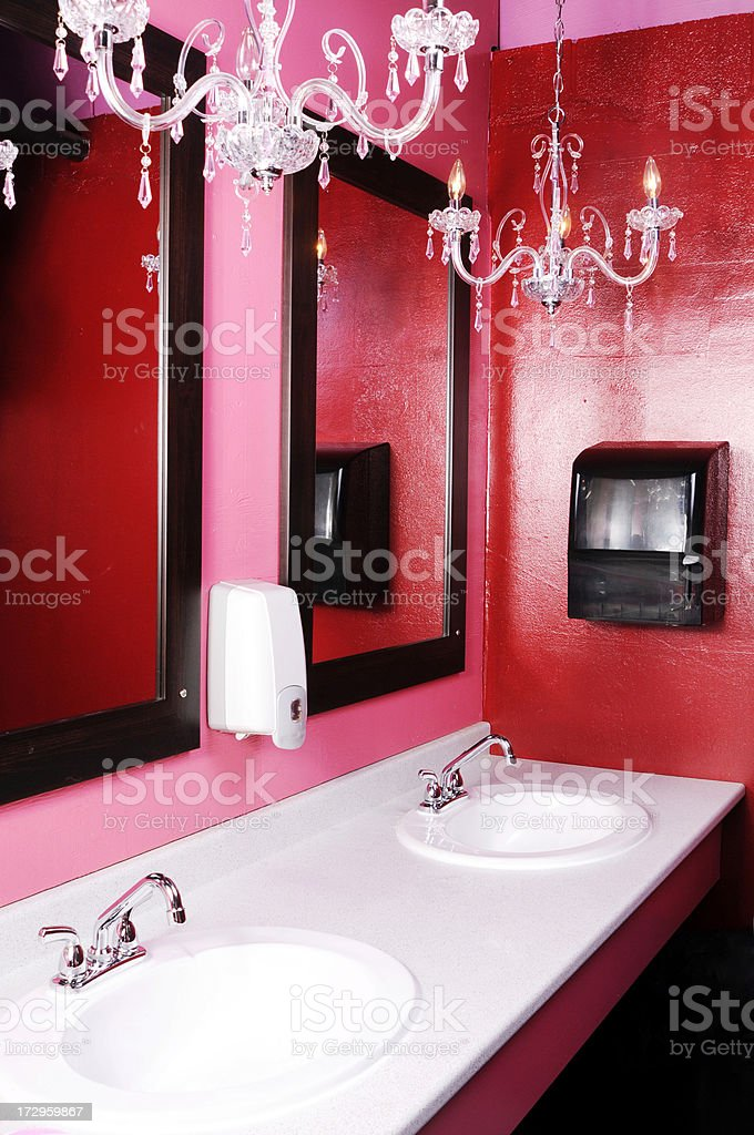 Luxurious Restroom royalty-free stock photo