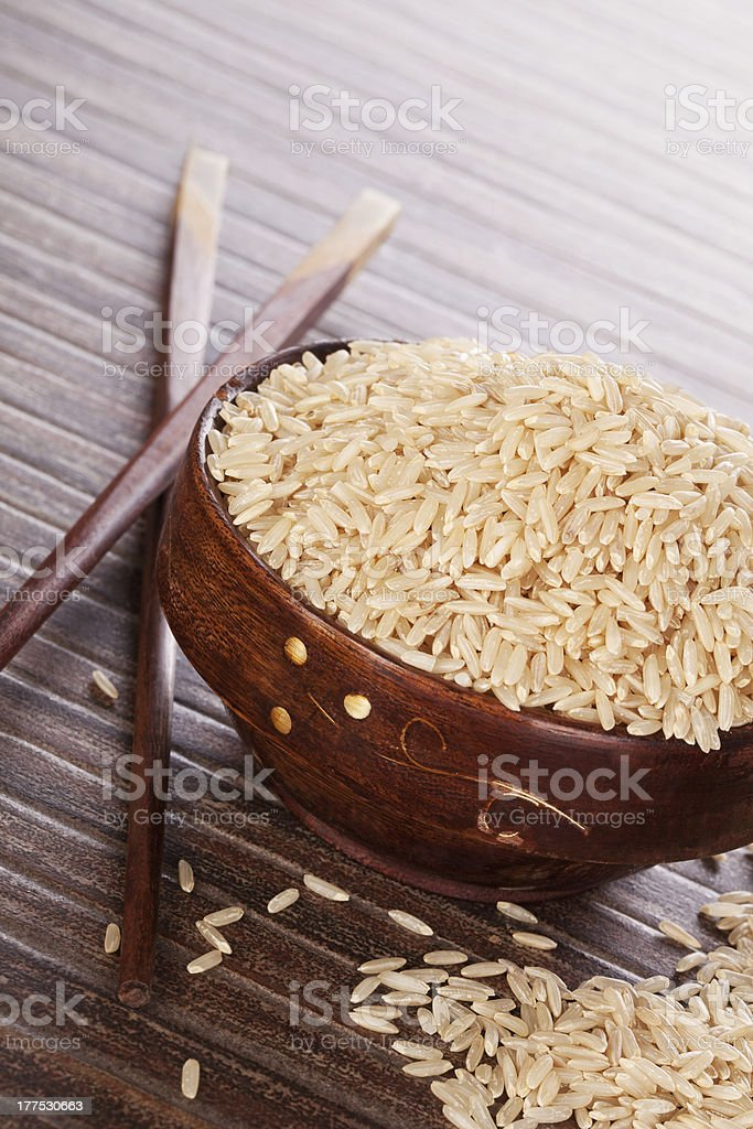 Luxurious rice background. royalty-free stock photo