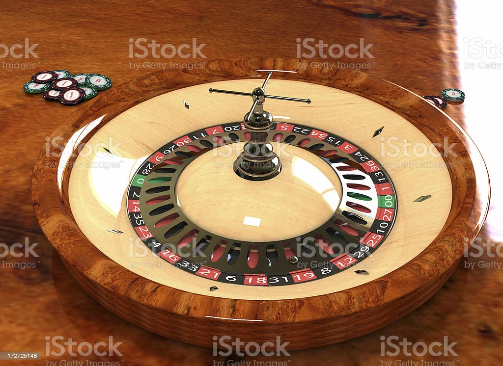 Luxurious Roulette royalty-free stock photo