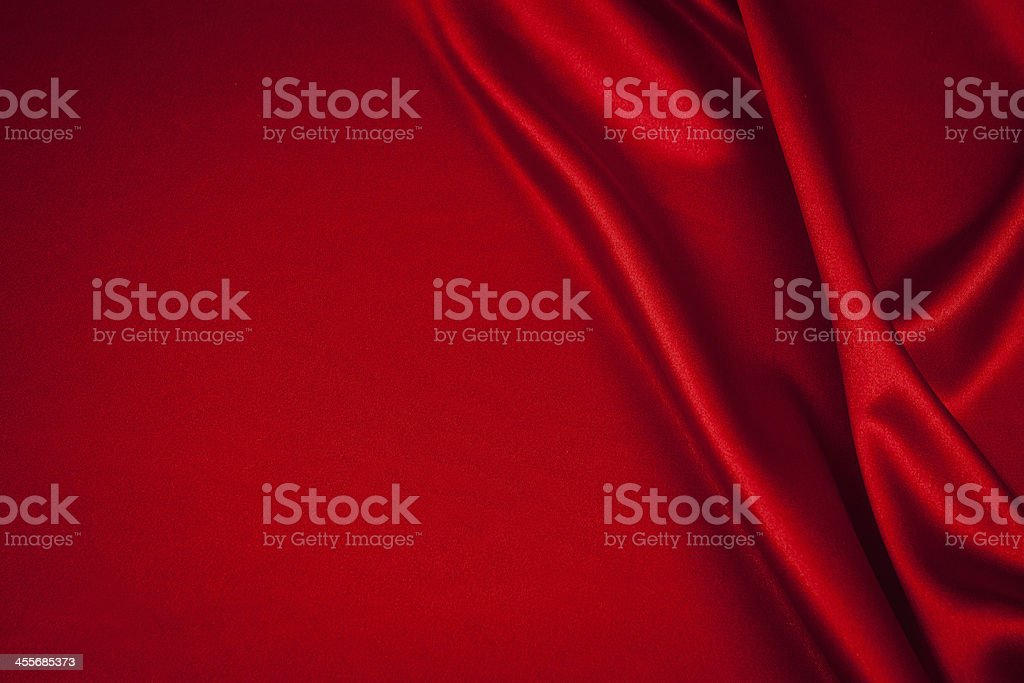 luxurious satin stock photo