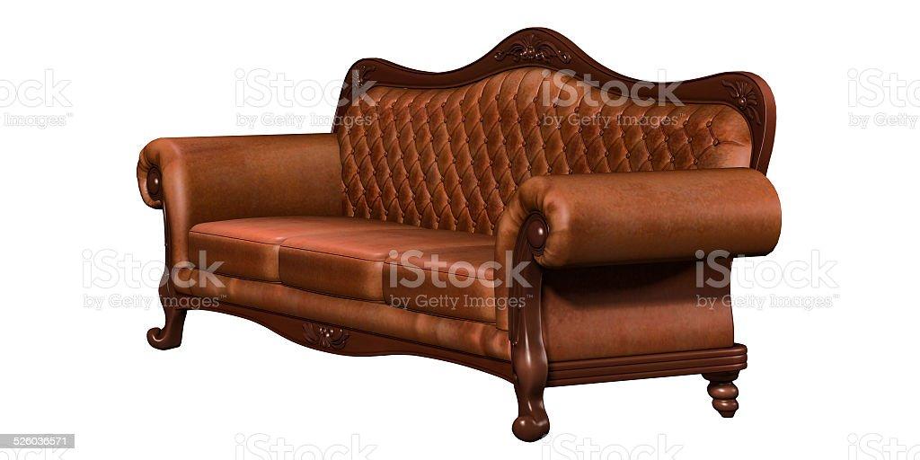 luxurious sofa stock photo