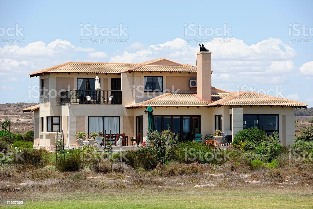 Luxurious South African Villa stock photo