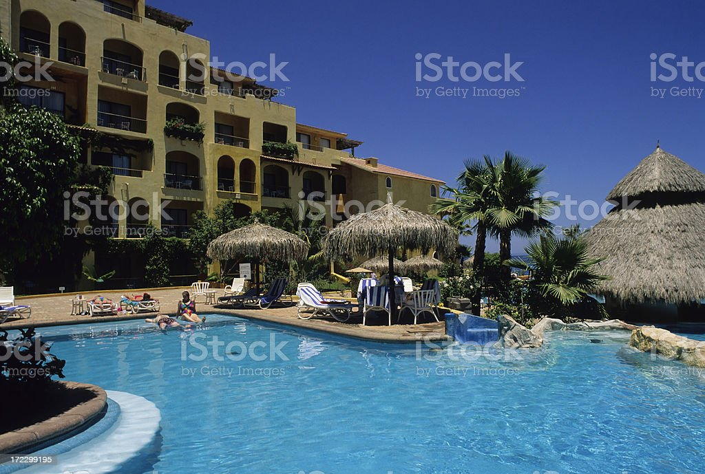 Luxurious Swimming Pool royalty-free stock photo