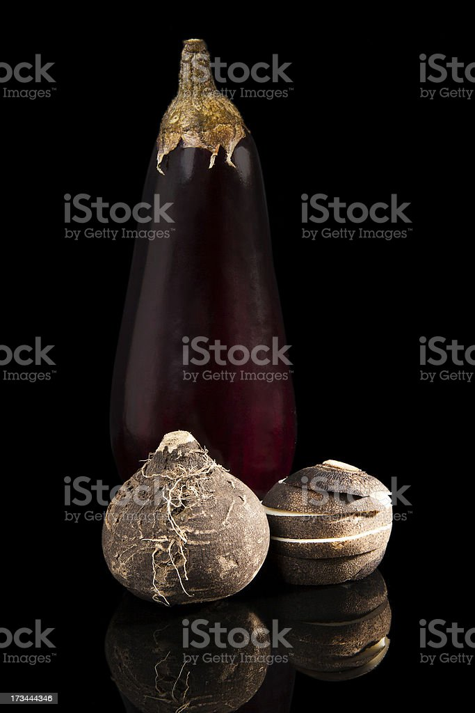 Luxurious vegetable still life. royalty-free stock photo