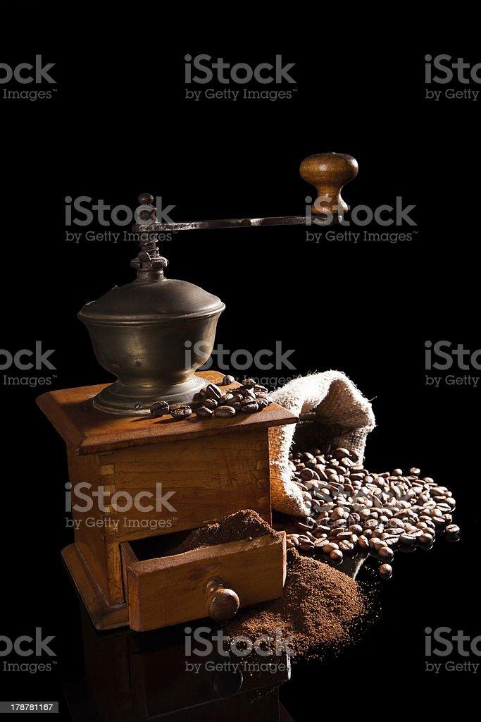 Luxurious vintage coffee background. royalty-free stock photo