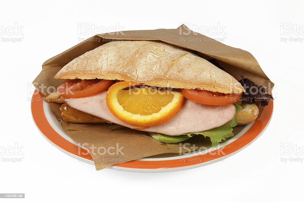 豪華なサンドイッチ ロイヤリティフリーストックフォト