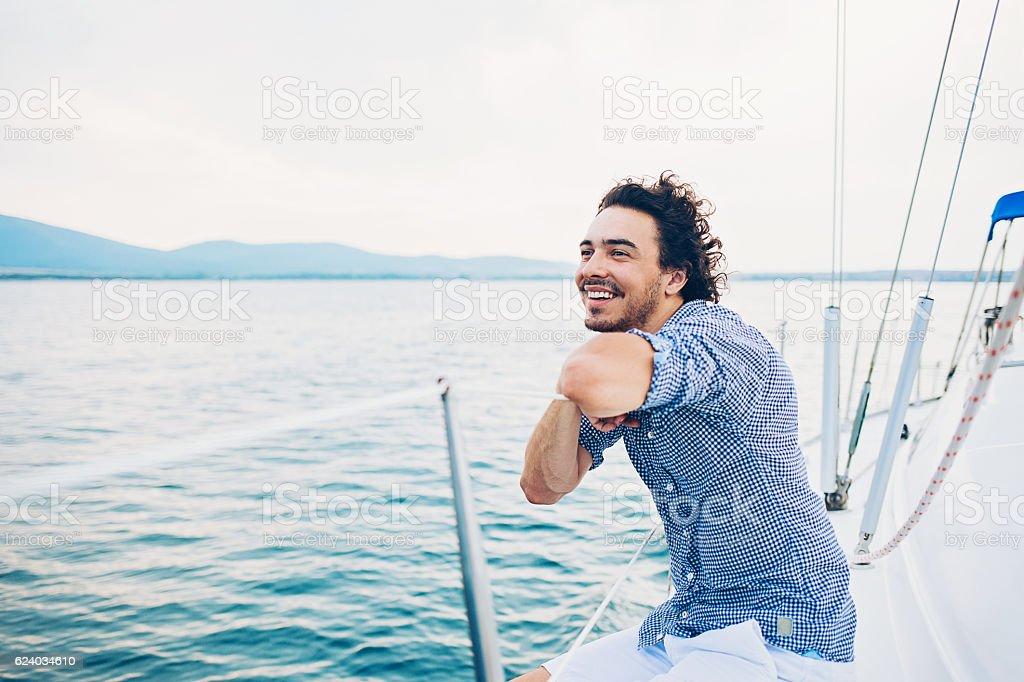 Luxury and solitude stock photo