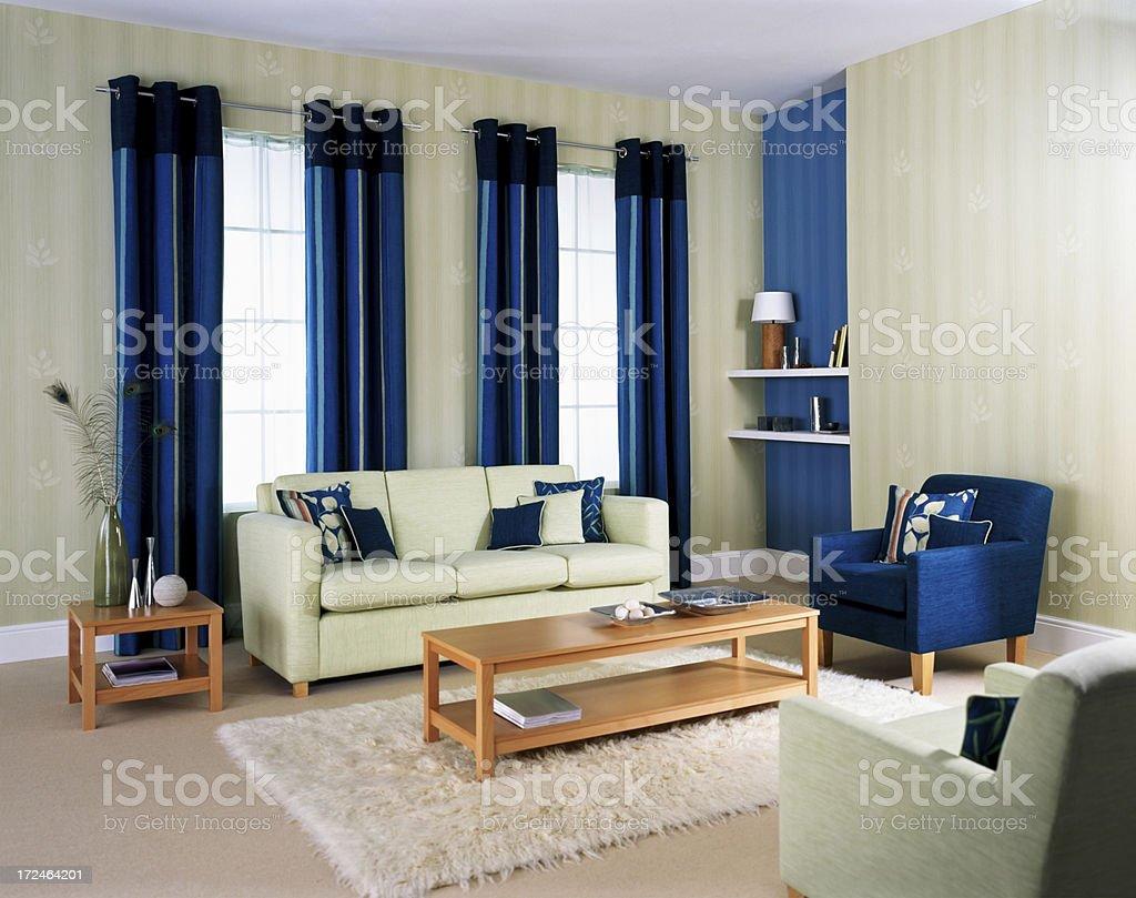 Luxury apartment interior design royalty-free stock photo