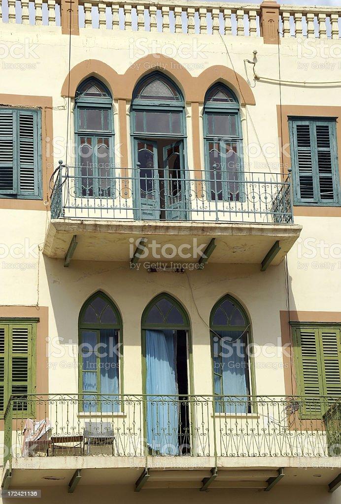 Luxury Apartments Nazareth Israel royalty-free stock photo