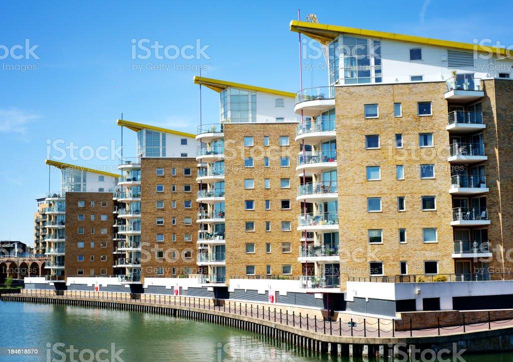 Luxury apartments royalty-free stock photo