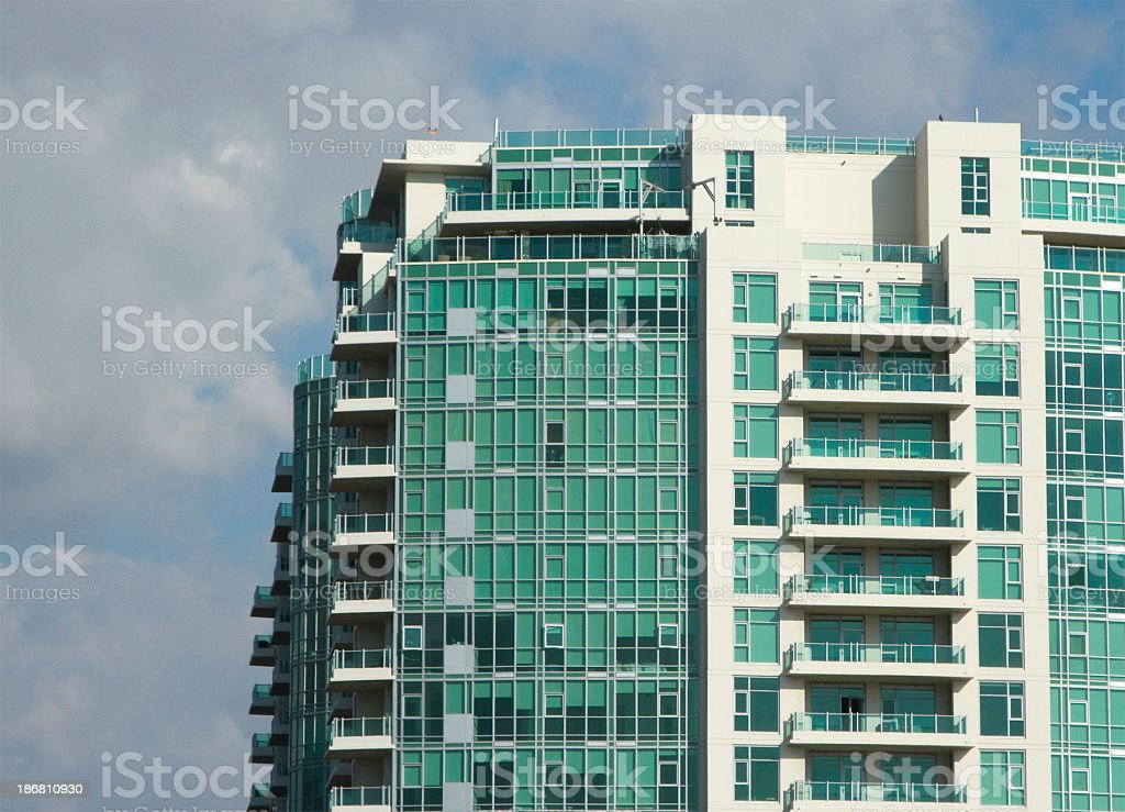 Luxury Apartments stock photo