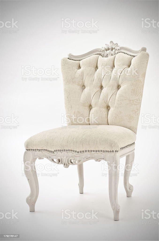 Luxury armchair royalty-free stock photo