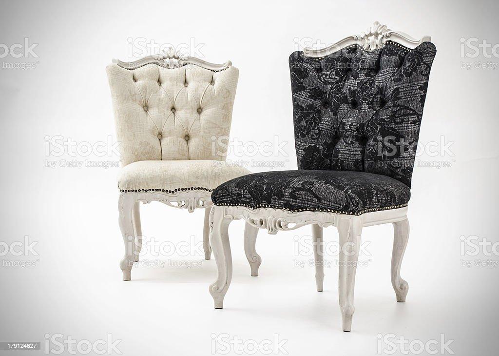 Luxury armchairs royalty-free stock photo