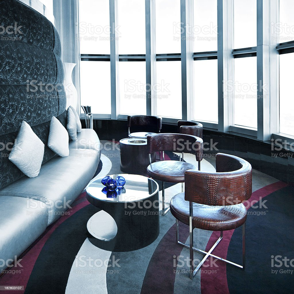 Luxury Bar Lounge royalty-free stock photo
