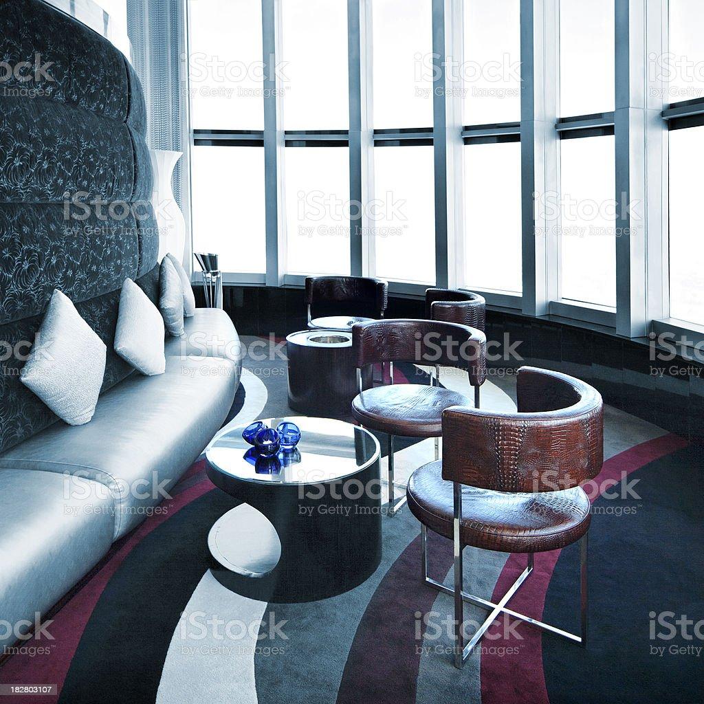 Luxury Bar Lounge stock photo