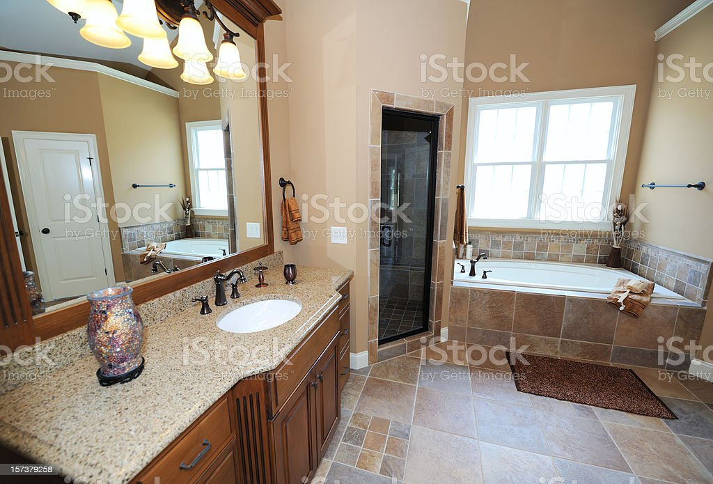 Luxury Bath royalty-free stock photo