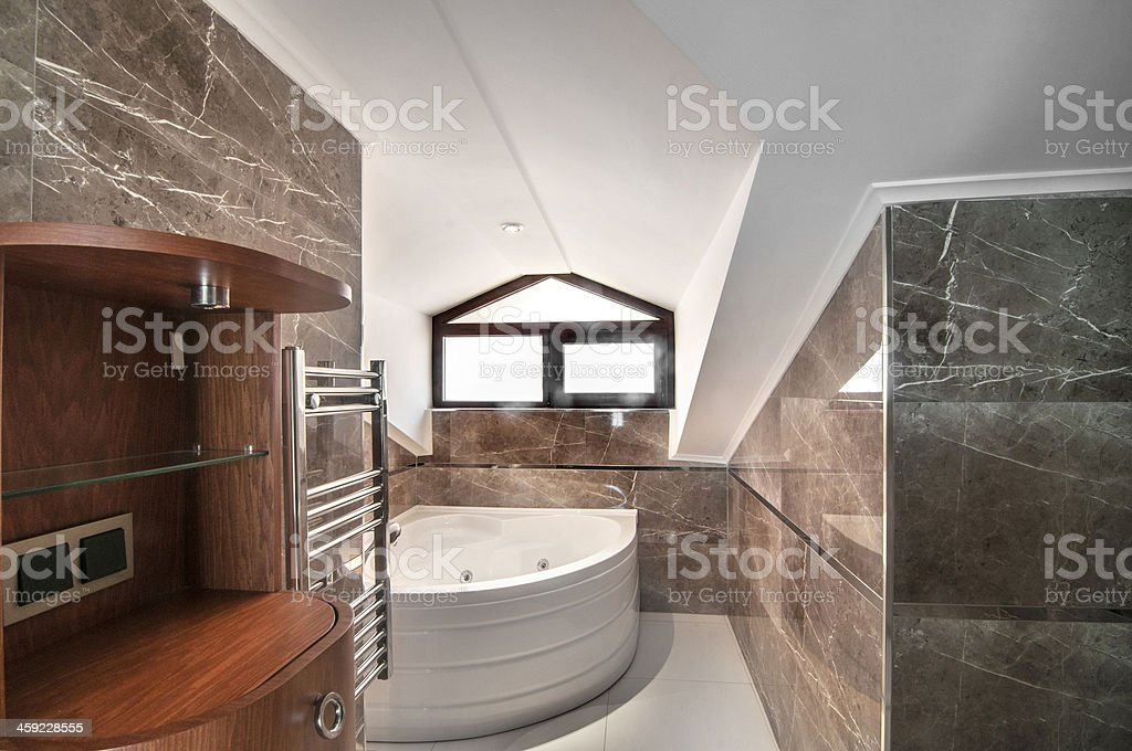 Luxury bathroom home interior royalty-free stock photo
