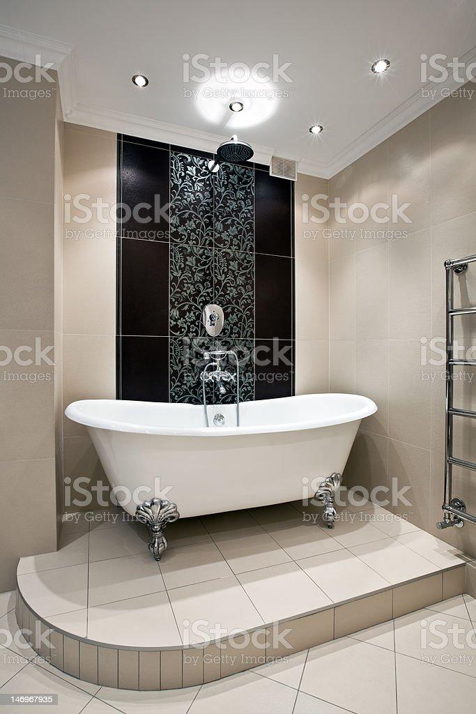 Luxury bathroom interior royalty-free stock photo