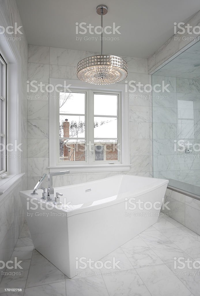Luxury Bathroom stock photo