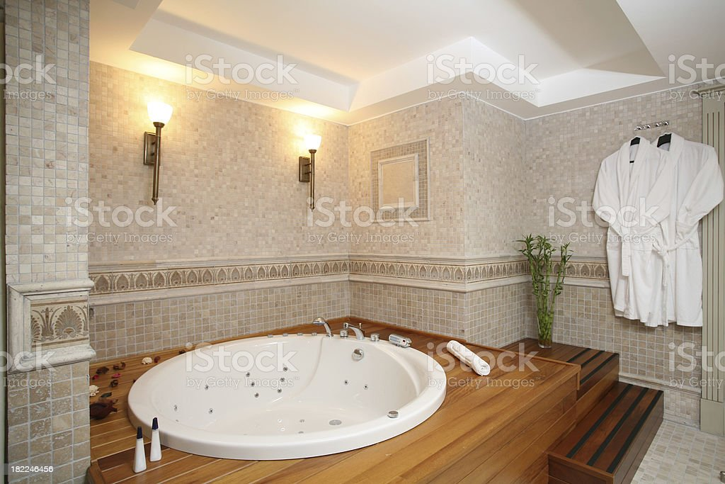Luxury Bathroom royalty-free stock photo