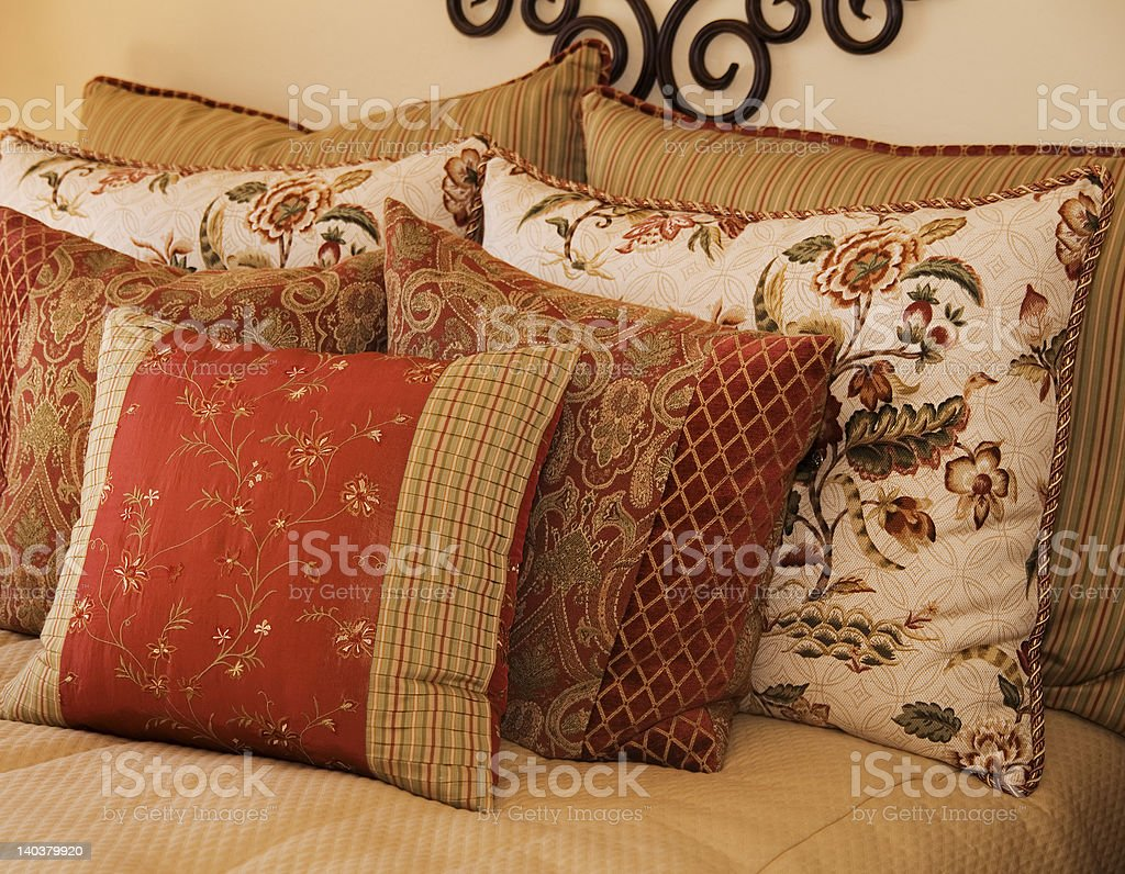Luxury Bedding royalty-free stock photo