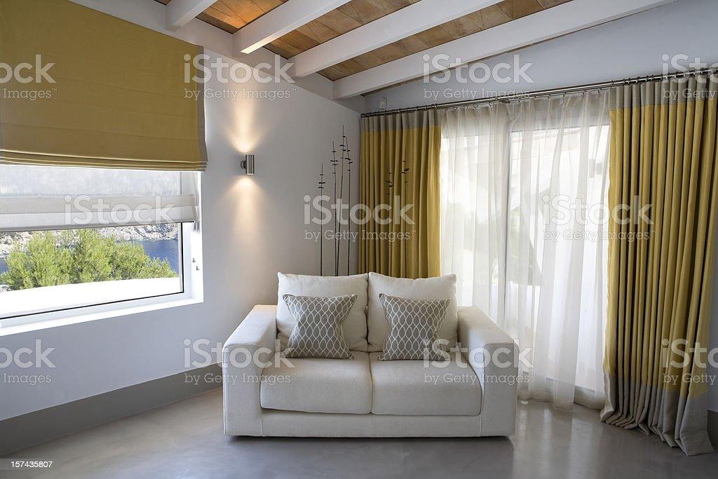 Luxury Bedroom Interior royalty-free stock photo