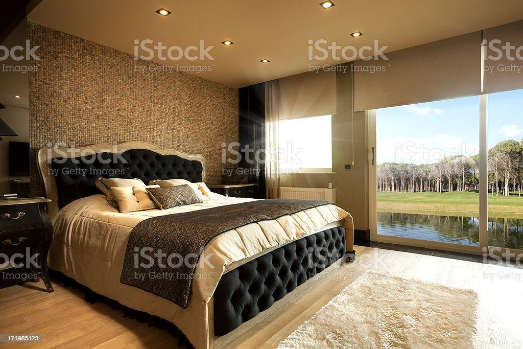 Luxury Bedroom royalty-free stock photo
