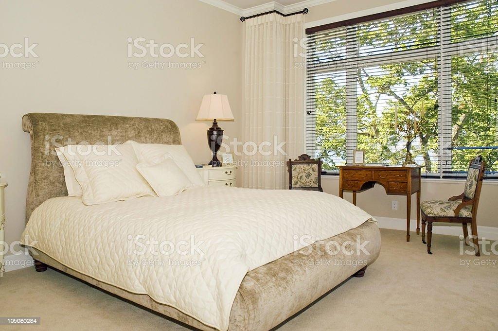 Luxury Bedroom Suite royalty-free stock photo