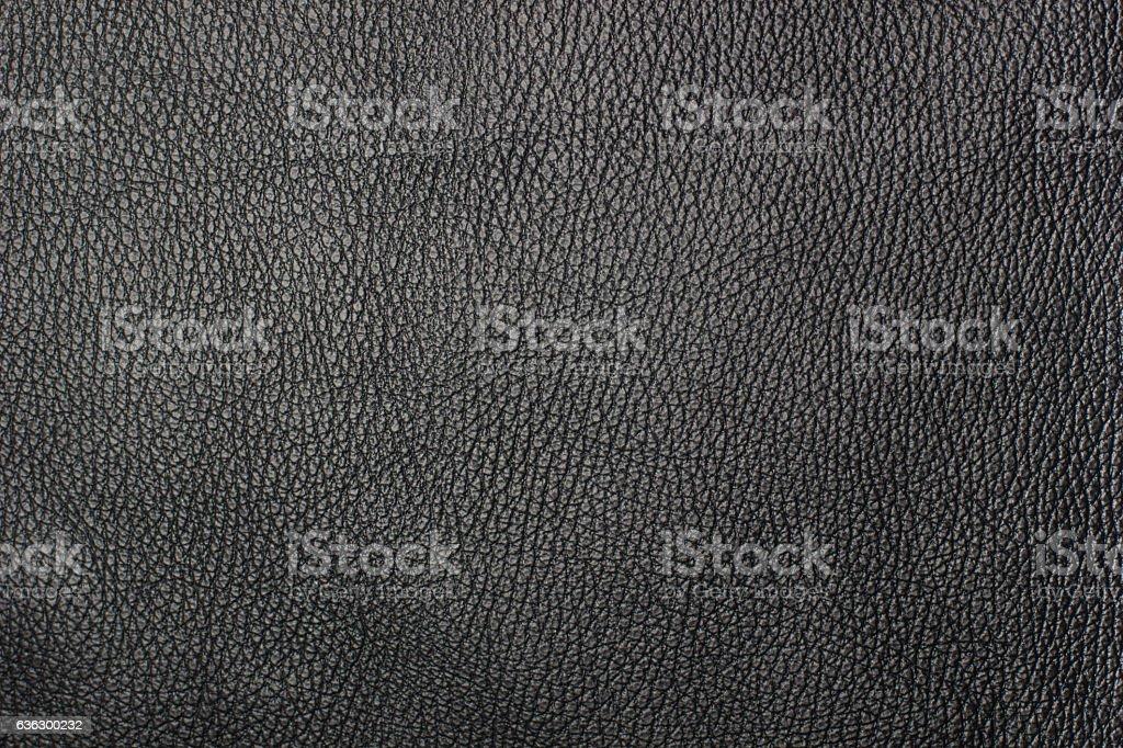 Luxury black leather texture background stock photo