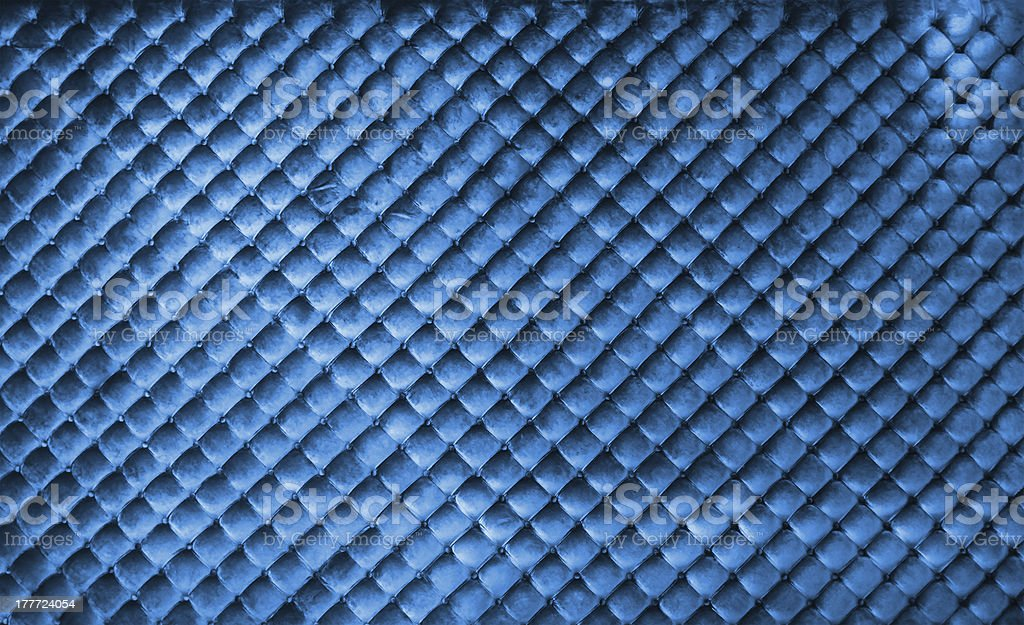 Luxury blue buttoned background stock photo