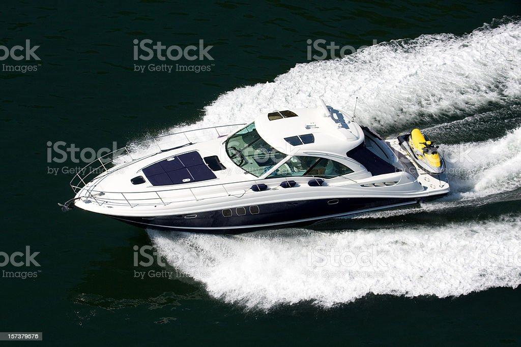 Luxury Boat royalty-free stock photo