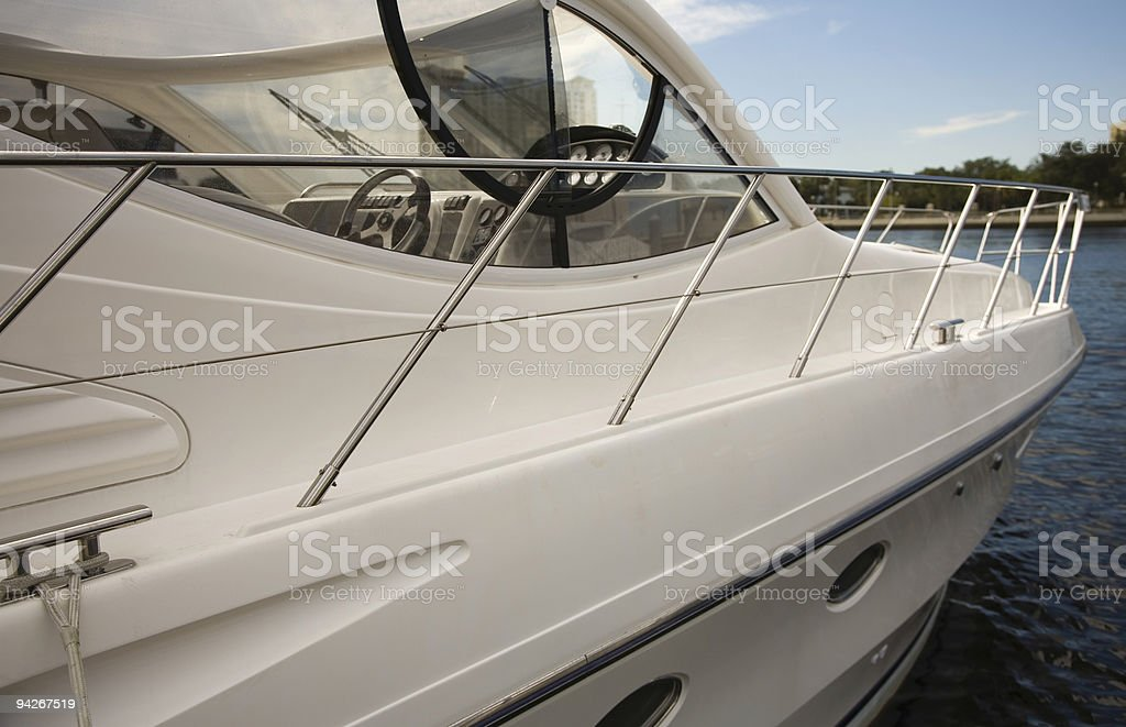 Luxury boat royalty-free stock photo