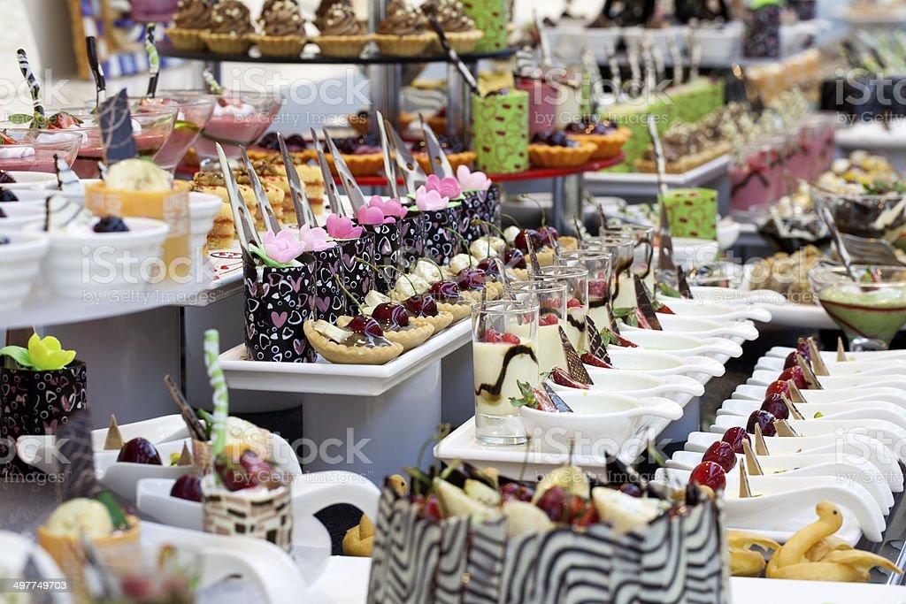 Luxury Buffet royalty-free stock photo