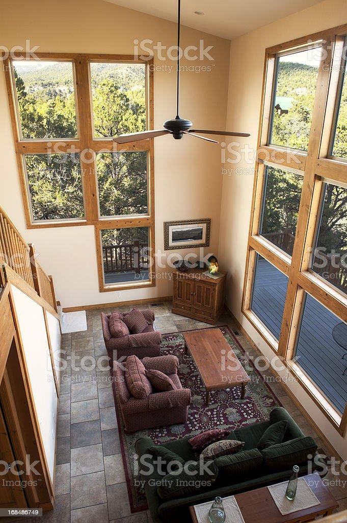 Luxury Cabin Interior royalty-free stock photo