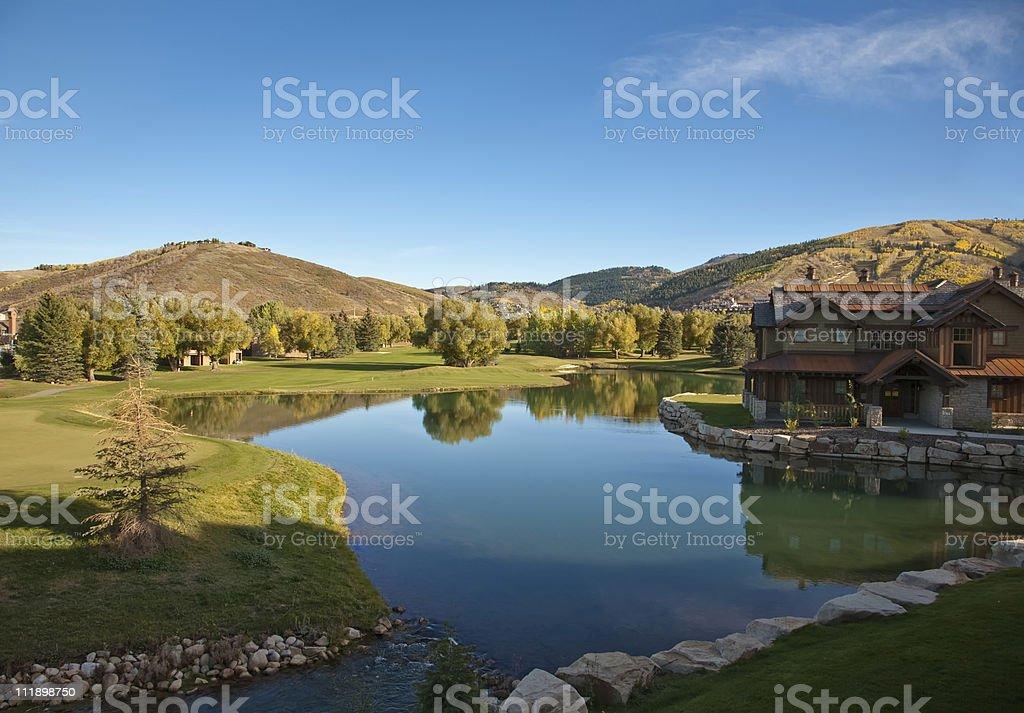 Luxury Cabin royalty-free stock photo